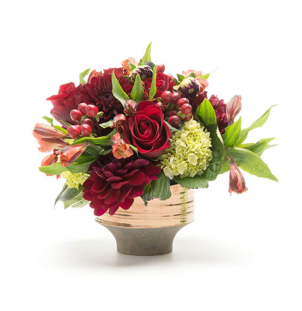 thanksgiving flower arrangements to send