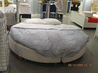 Ikea Sultan Sandane Round Mattress Bed Room Sets 1 Master