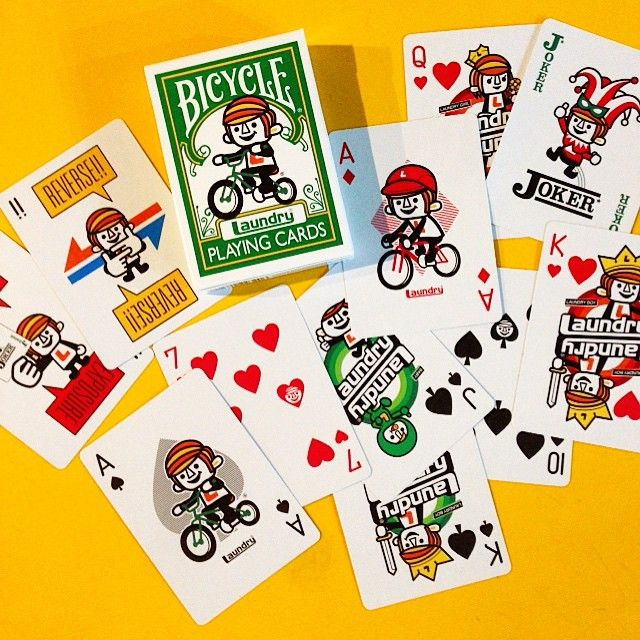 BICYCLE PLAYING CARDS x LAUNDRY by Panson Works