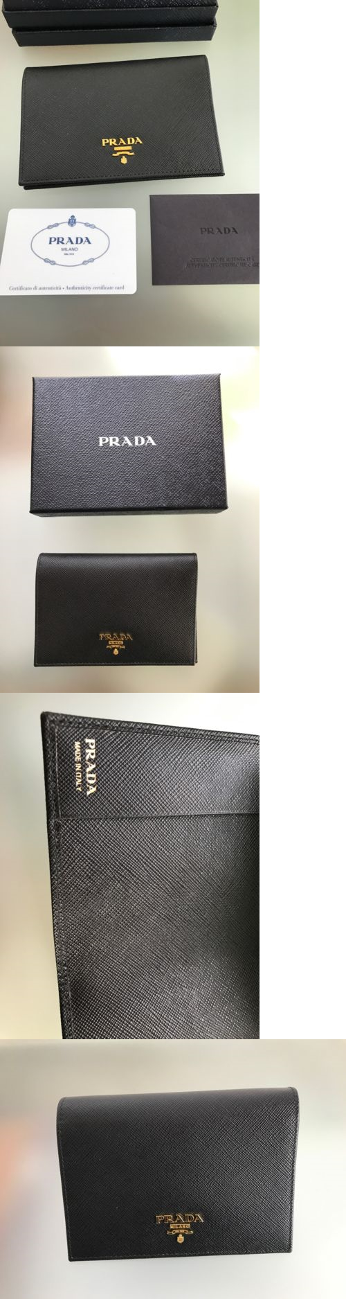 ID and Document Holders 169279: Prada Passport Case - New With Box -> BUY IT NOW ONLY: $435 on eBay!