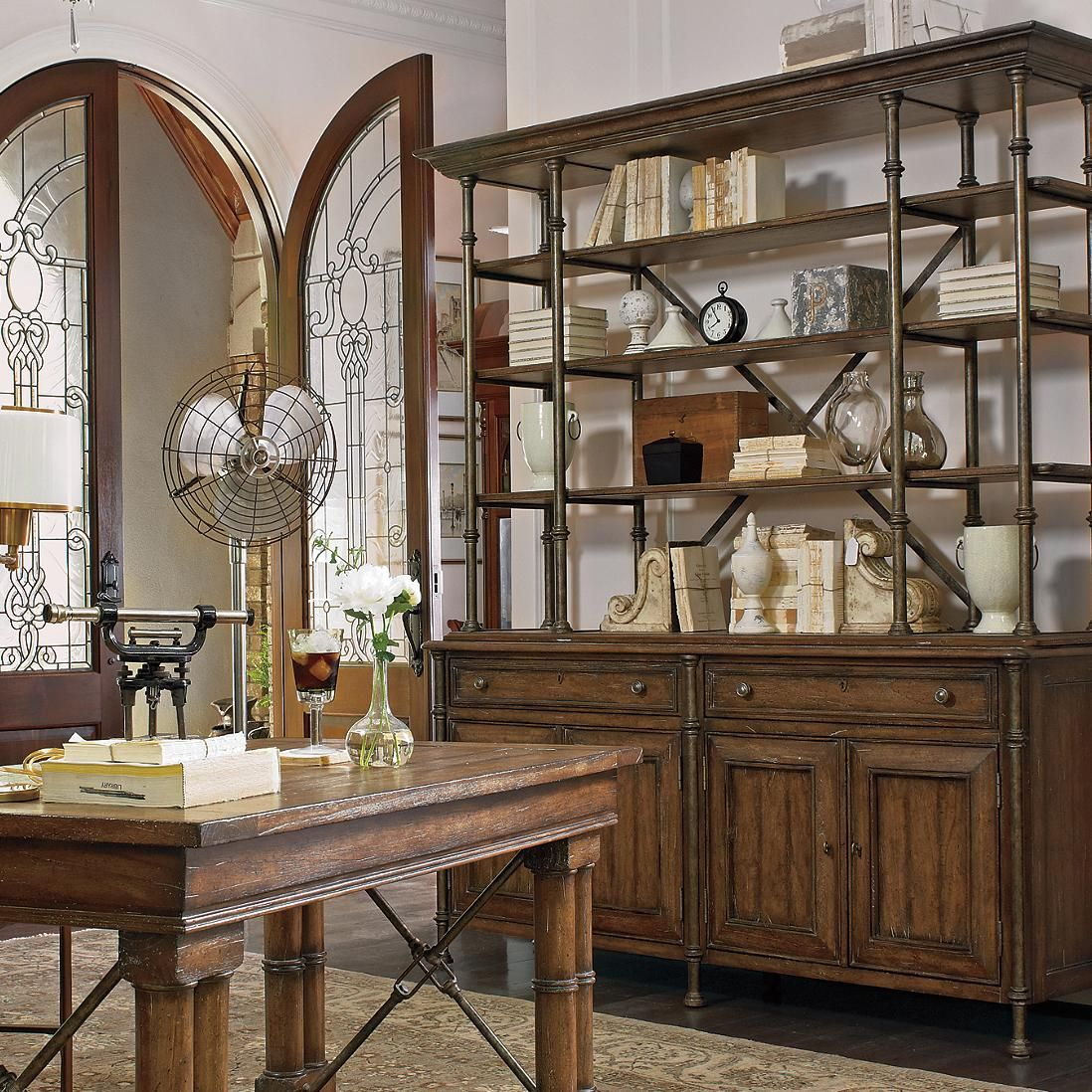 European Farmhouse Campagne Cabinet #HudsonsFurniture Would Love To Use In  The Kitchen Filled With White Dishes
