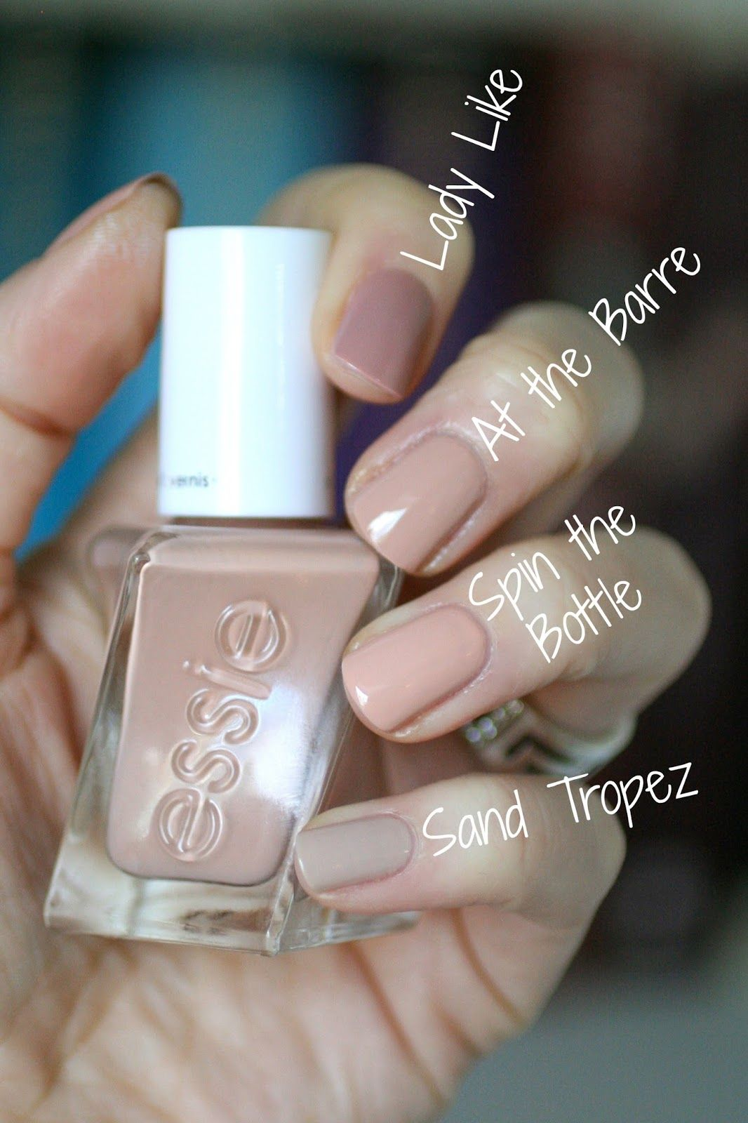 At the Barre comparisons || Ballet Nudes Collection | Nails ...