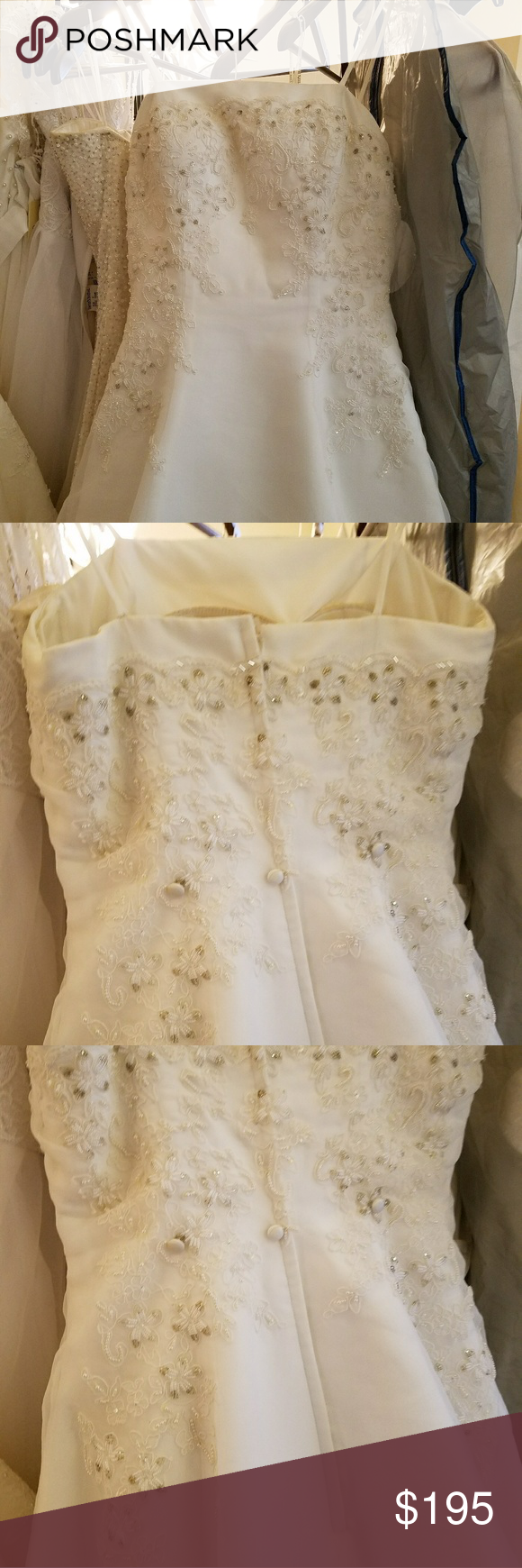 Mori lee wedding dress gown size mori lee lace beading and