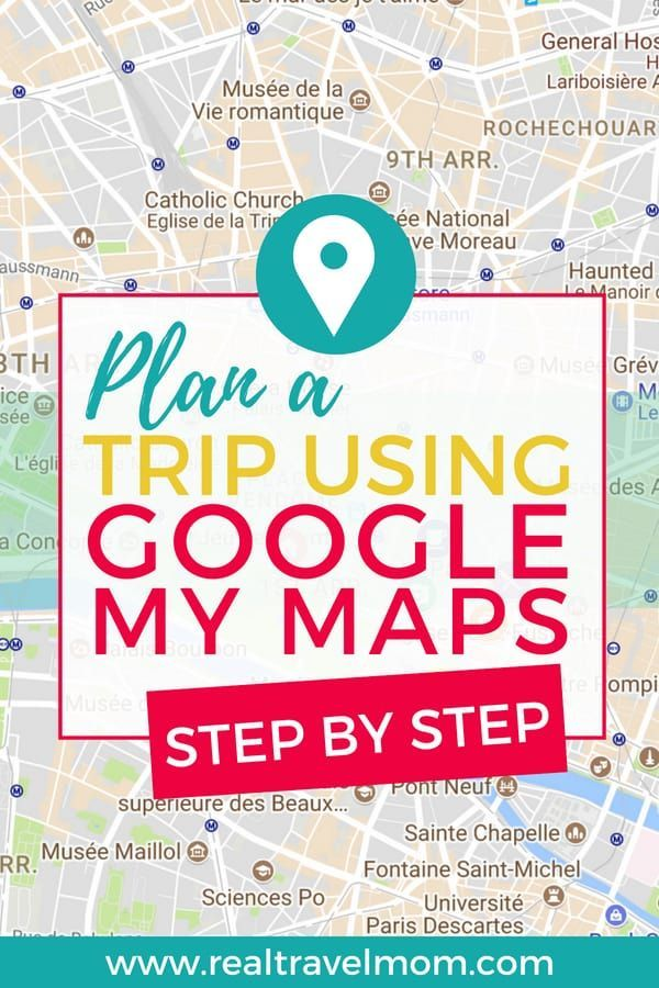 Using Google Maps Trip Planner To Create A Vacation Map Travel - Trip maker google maps