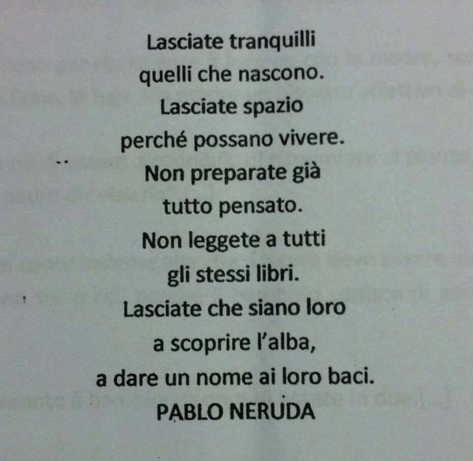 Pablo Neruda Citazioni Parole Pablo Neruda
