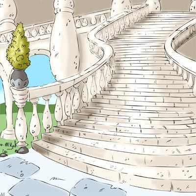 Grand Staircase Digi Stamp in Digital images