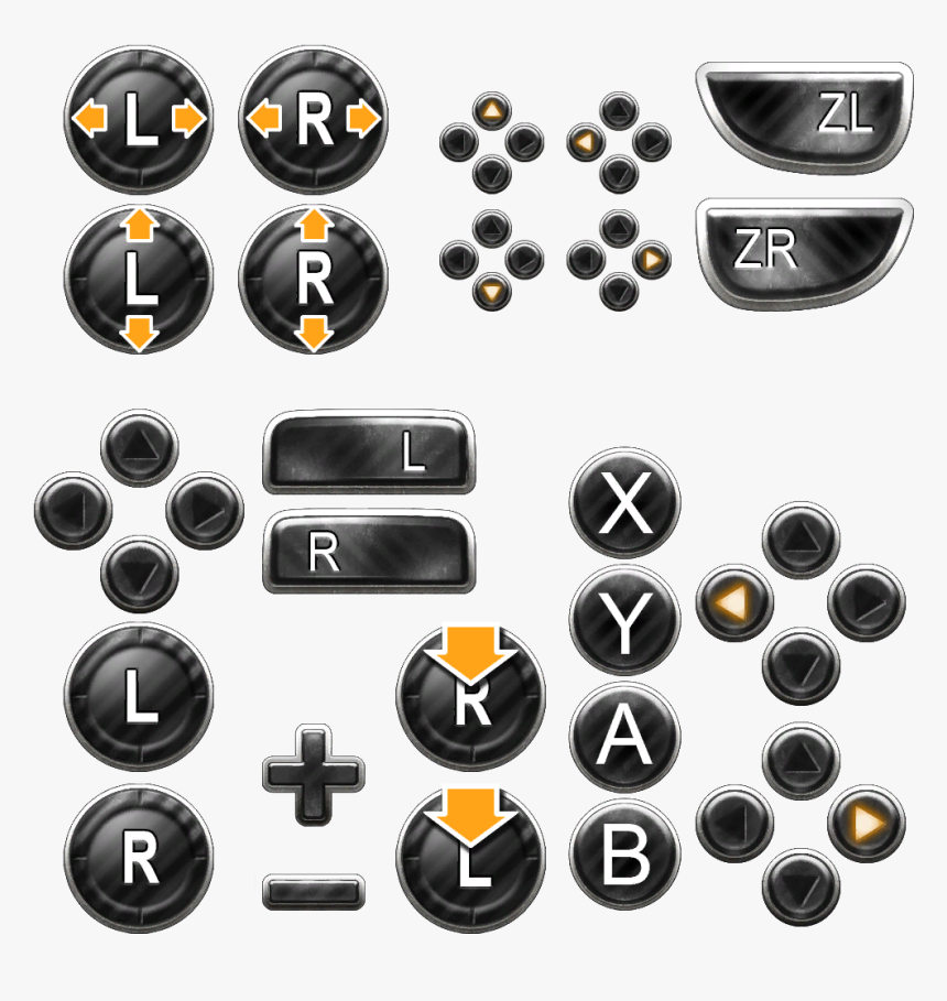 Nintendo Switch Button Icons Hd Png Download Nintendo Switch Nintendo Icon