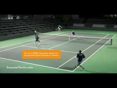 4 Tennis Doubles Positioning Shading Youtube In 2020 Tennis Doubles Tennis Tennis Workout