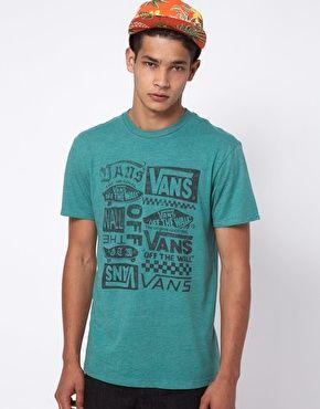 Vans T-Shirt Line Record Print
