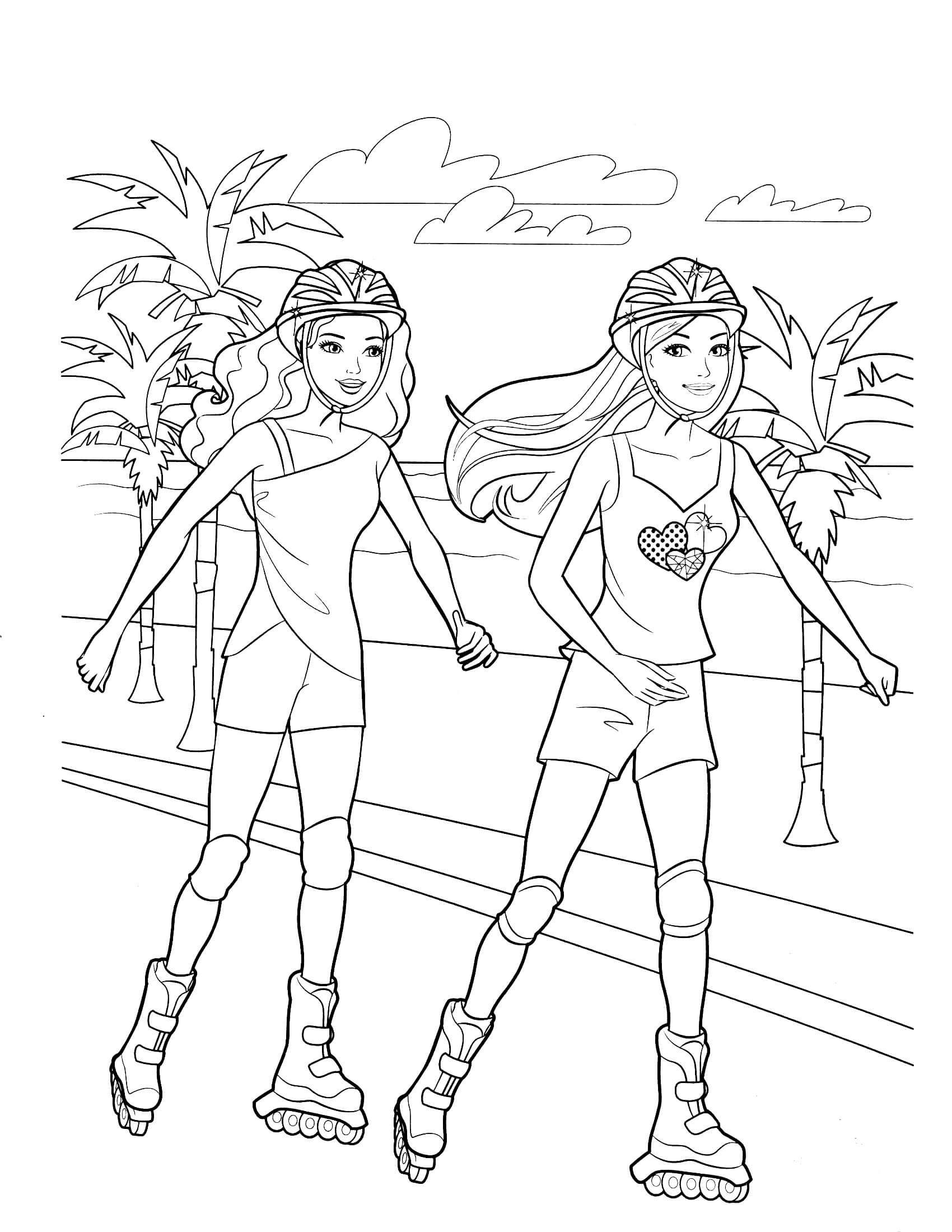 30++ Free printable barbie coloring sheet ideas in 2021