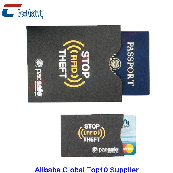 Rfid Wallet Blocking Card Passport Holdercredit Card Protector Stop