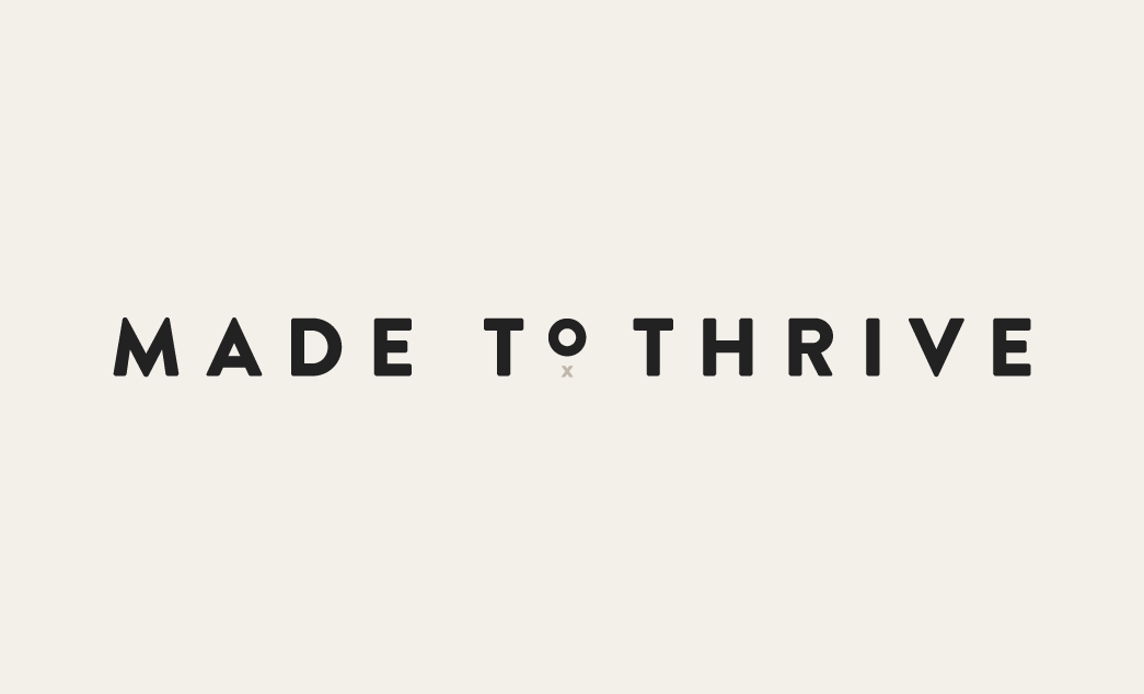 Awhile back Lindsay came to me wanting to completely change her business name and start fresh with a new brand and website that reflected her growing company. After some late nights drinking wine and brainstorming new names together we came up with Made to Thrive. Lindsay partners with graphic designers to build easy, beautiful websites …