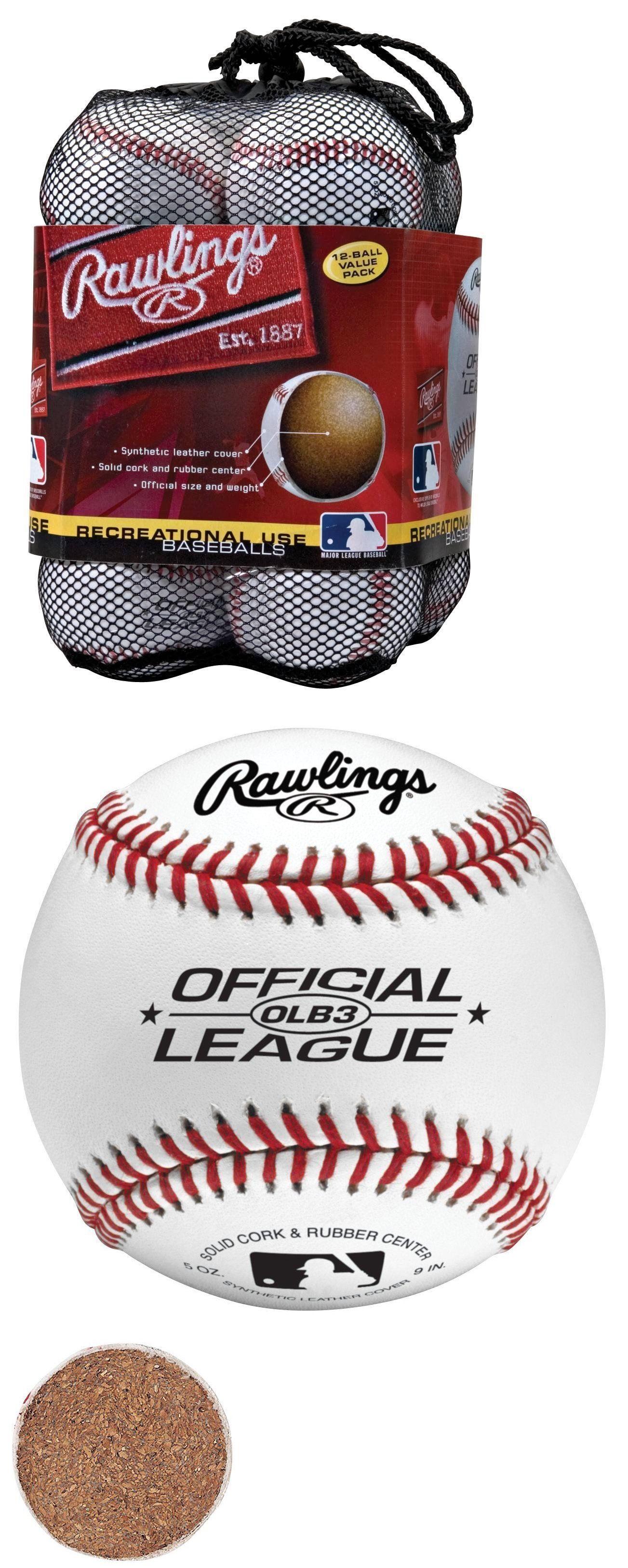 26dc3b0f Baseballs 73893: Rawlings Official League Recreational Use Baseballs, Bag  Of 12, Olb3bag12 -> BUY IT NOW ONLY: $23.9 on #eBay #baseballs #rawlings # official ...