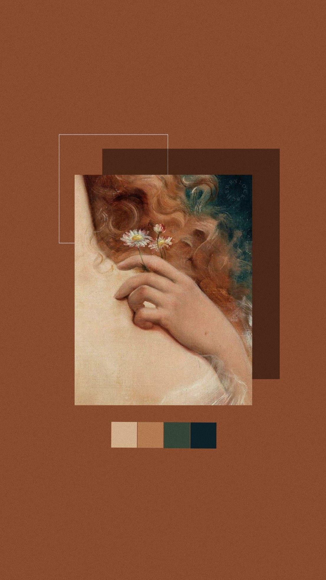 Lockscreen Brown Art Venus 𝚟𝚎𝚛𝚛𝚒𝚗𝚞𝚜 Papel De