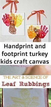 Best Images Handprint and footprint turkey kids craft canvas Ideas Handprint  Best Images Handprint and footprint turkey kids craft canvas Ideas Handprint   Fall C