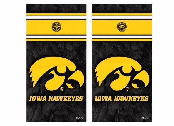 NCAA Iowa Hawkeyes Absorbent Stone Coasters Set of 4
