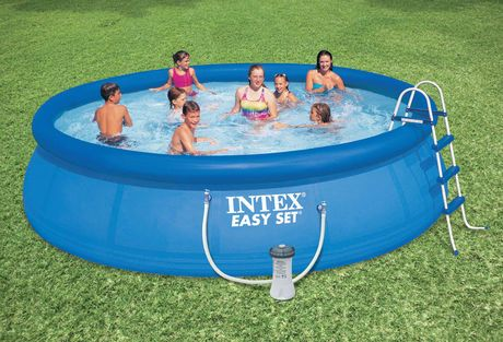 Swimming pool aufblasbar  Intex 16' x 42