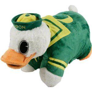 University Of Oregon Duck Pillow Pet Go Ducks Animal Pillows