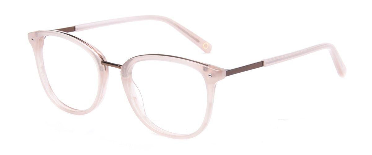 88fd8b6b4d2 Affordable Fashion Glasses Square Round Eyeglasses Women Bella Blush Tilt