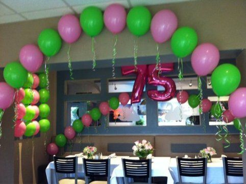 75th birthday party decorations - Birthday Party Decoration Ideas