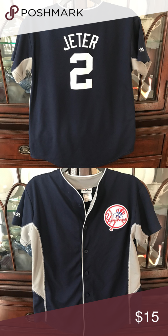 new product 68315 7fd99 Boys Jeter Jersey New York Yankees jersey. Navy blue and ...