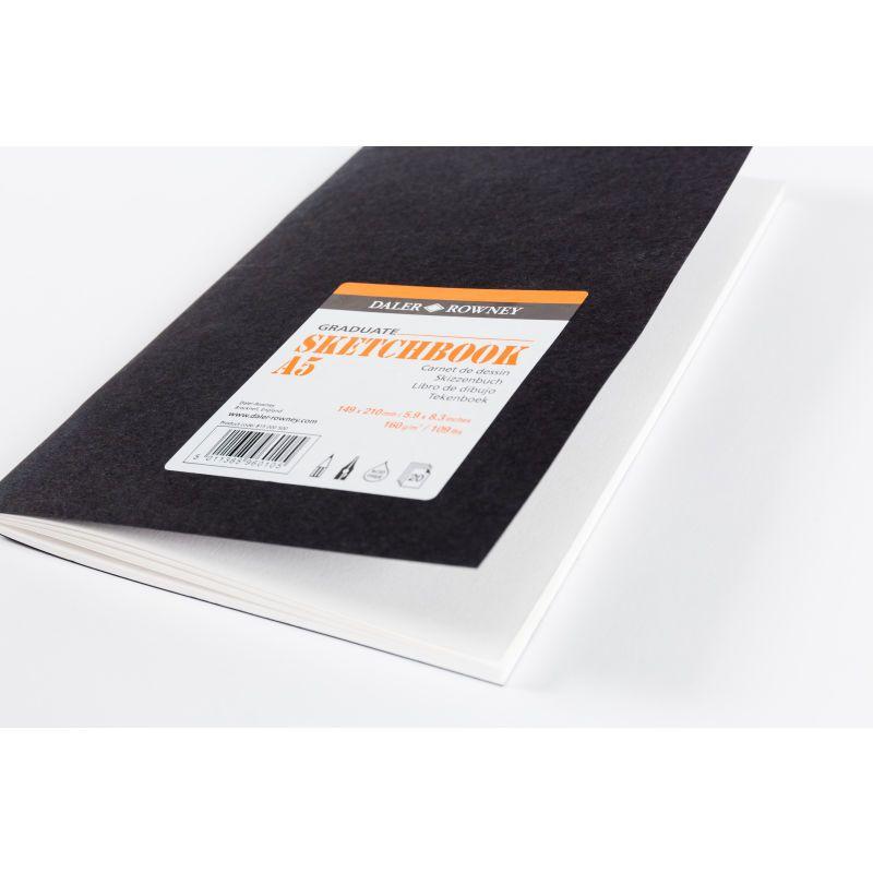 Daler Rowney Graduate Black Sketchbook A5 Hobbycraft Sketch
