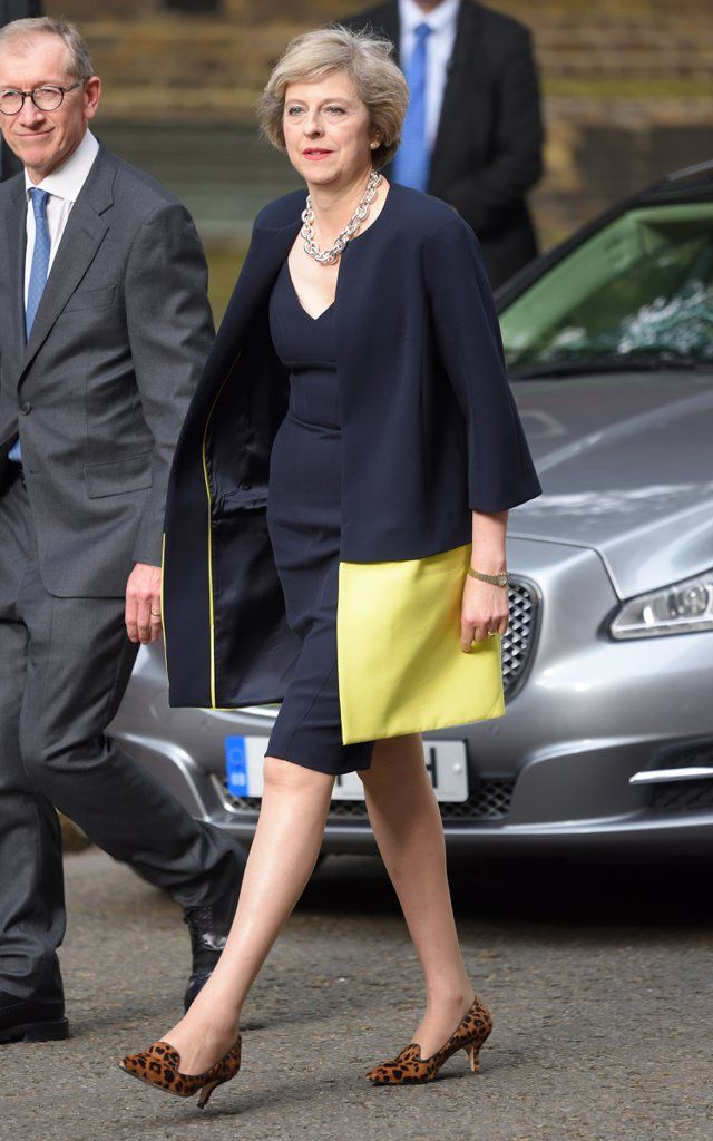 British Prime Minster Theresa May Has A Style Mantra For