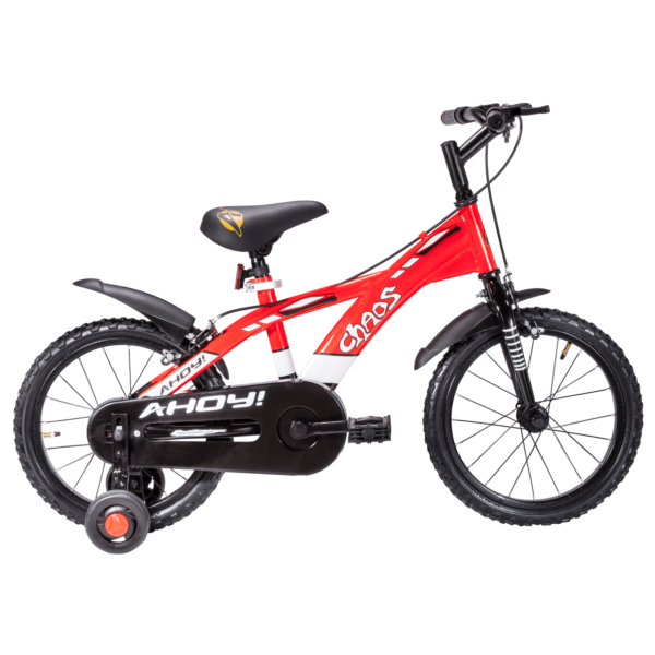 Chaos 16 Red Kids Cycle Baby Bicycle Kids Bicycle