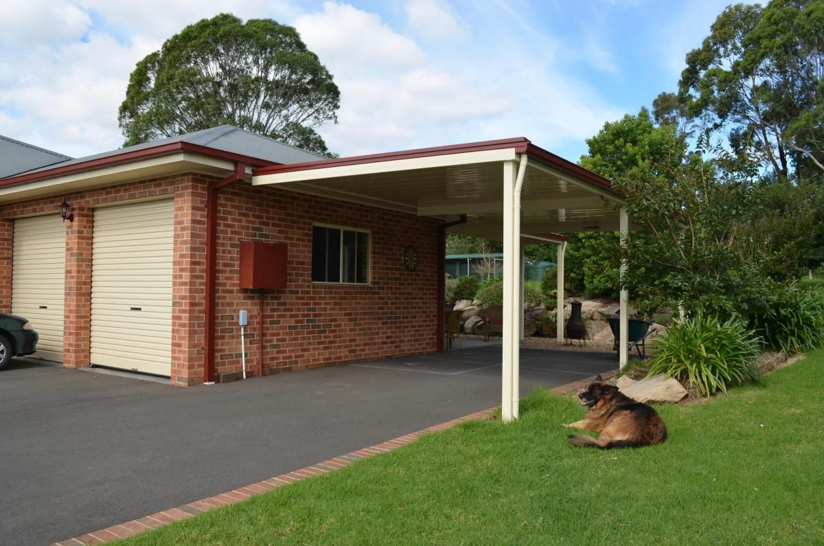 Carport very basic which sits well on this site use of for Different carport designs