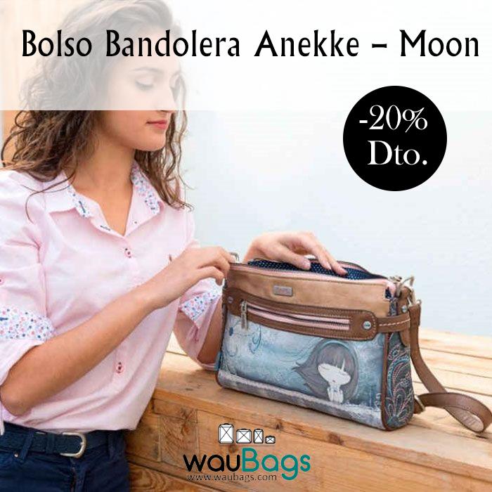 """""""Moon """"Moon Bolso Anekke Anekke Bolso Bolso Bandolera Bandolera ZwdfqaZ"""