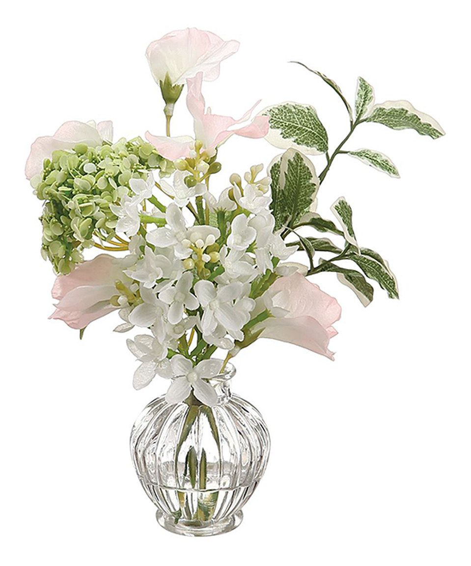 Look At This Zulilyfind 75 Sweet Pea Lilac Vase Arrangement