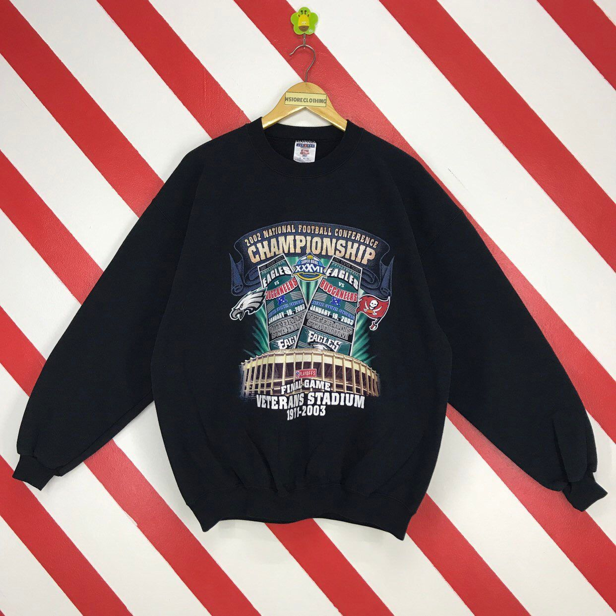 quality design 394da f348c Vintage Super Bowl Sweatshirt Crewneck Buccaneers Team ...