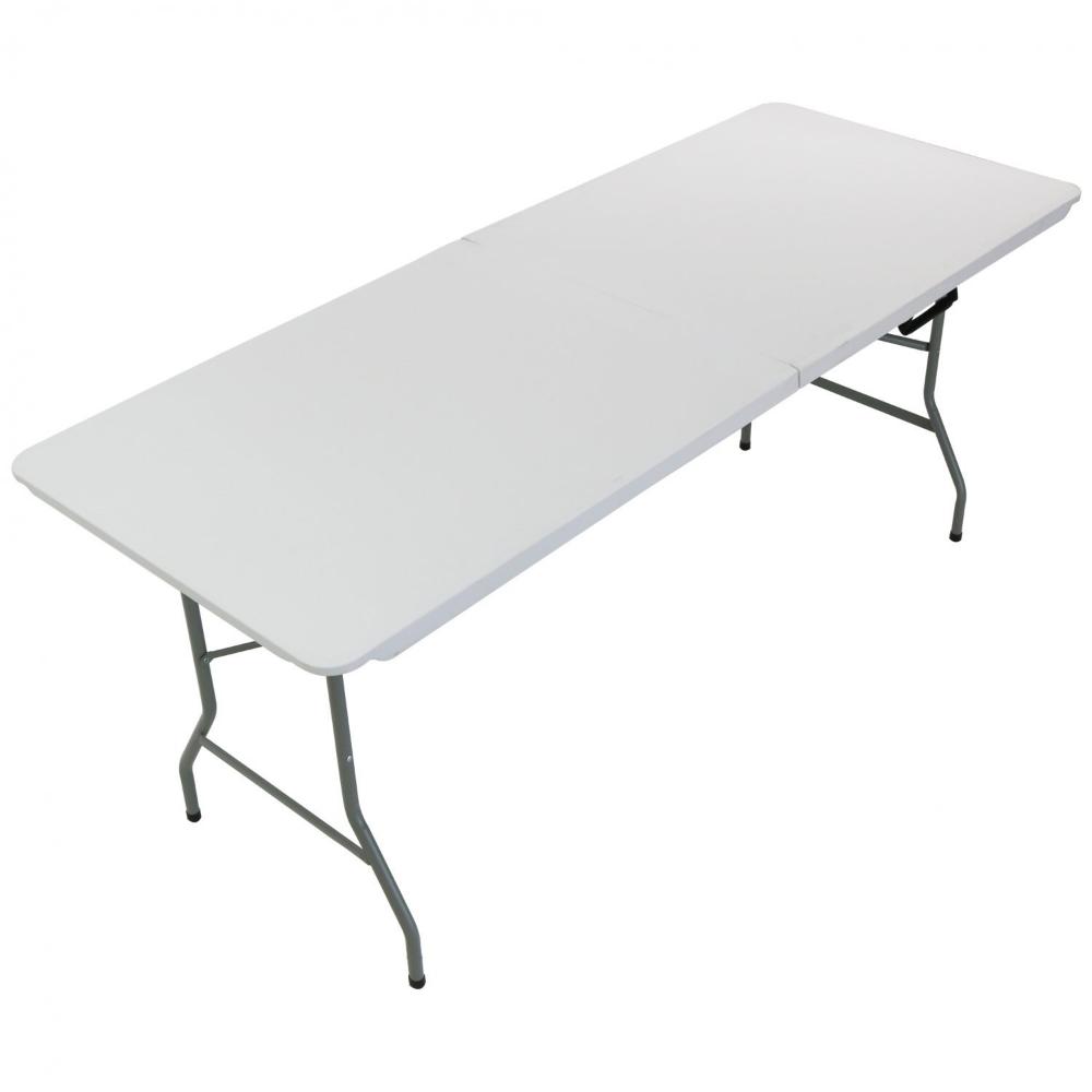 - 6ft Folding Trestle Table Heavy Duty Catering Garden Party 1.8m