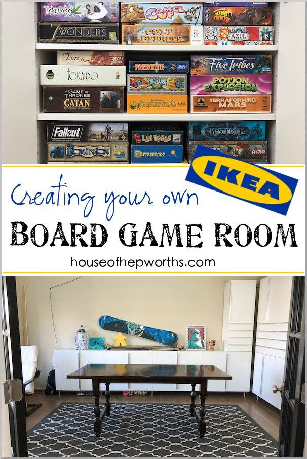 Turning a Formal Living into a BOARD GAME ROOM