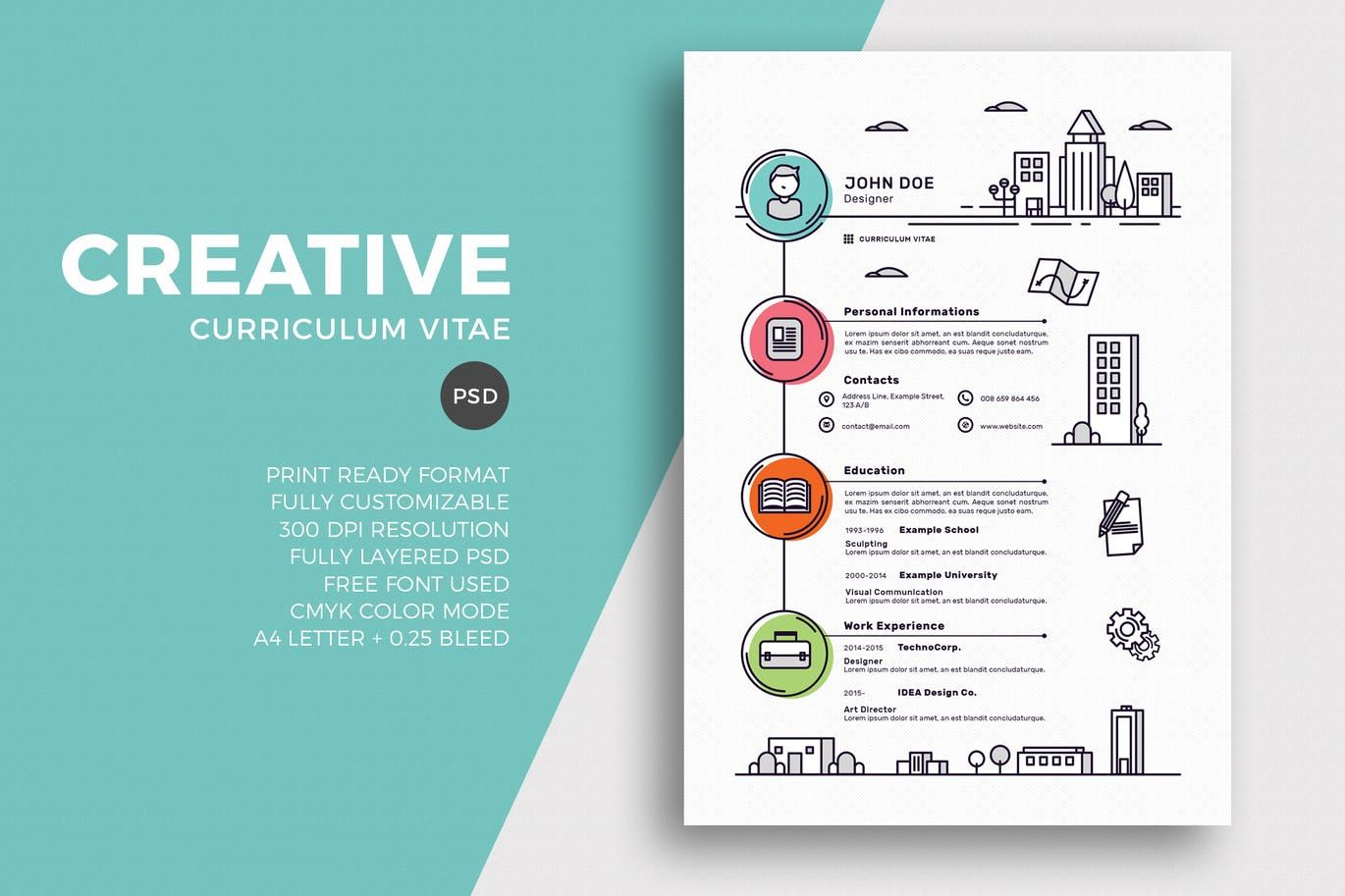 50+ Best CV & Resume Templates 2020 Creative resume, Cv