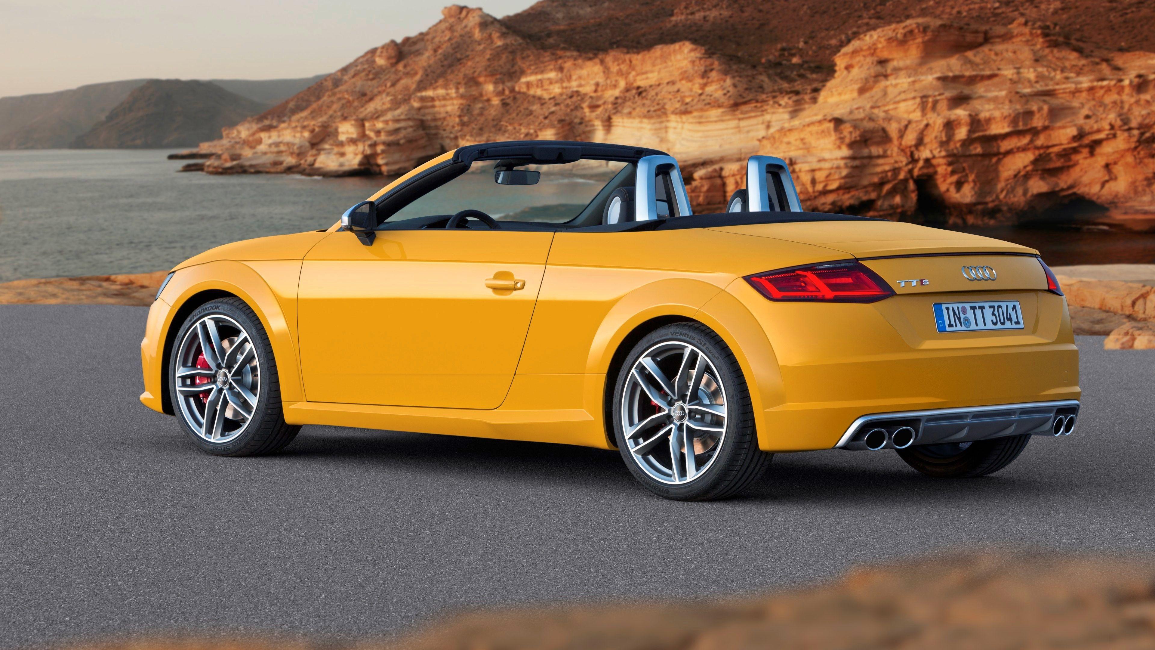 Yellow Audi Tt Convertible Audi Tt Roadster Audi Tt Audi Cars