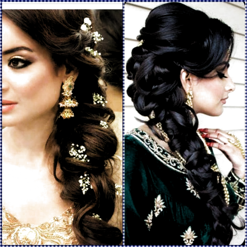 Pin On Hairstyles In 2020 Indian Wedding Hairstyles Wedding Hairstyles For Long Hair Long Hair Wedding Styles
