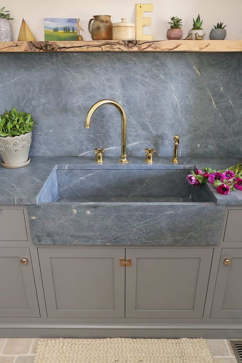 40 Gorgeous Farmhouse Sink Ideas Best For Your Kitchen In 2019