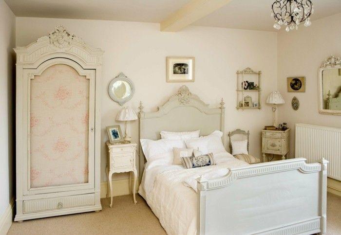 Chambre Vintag, Déco Chambre Vintage, Modèle Chambre Adulte, Déco Chambre  Adulteu2026