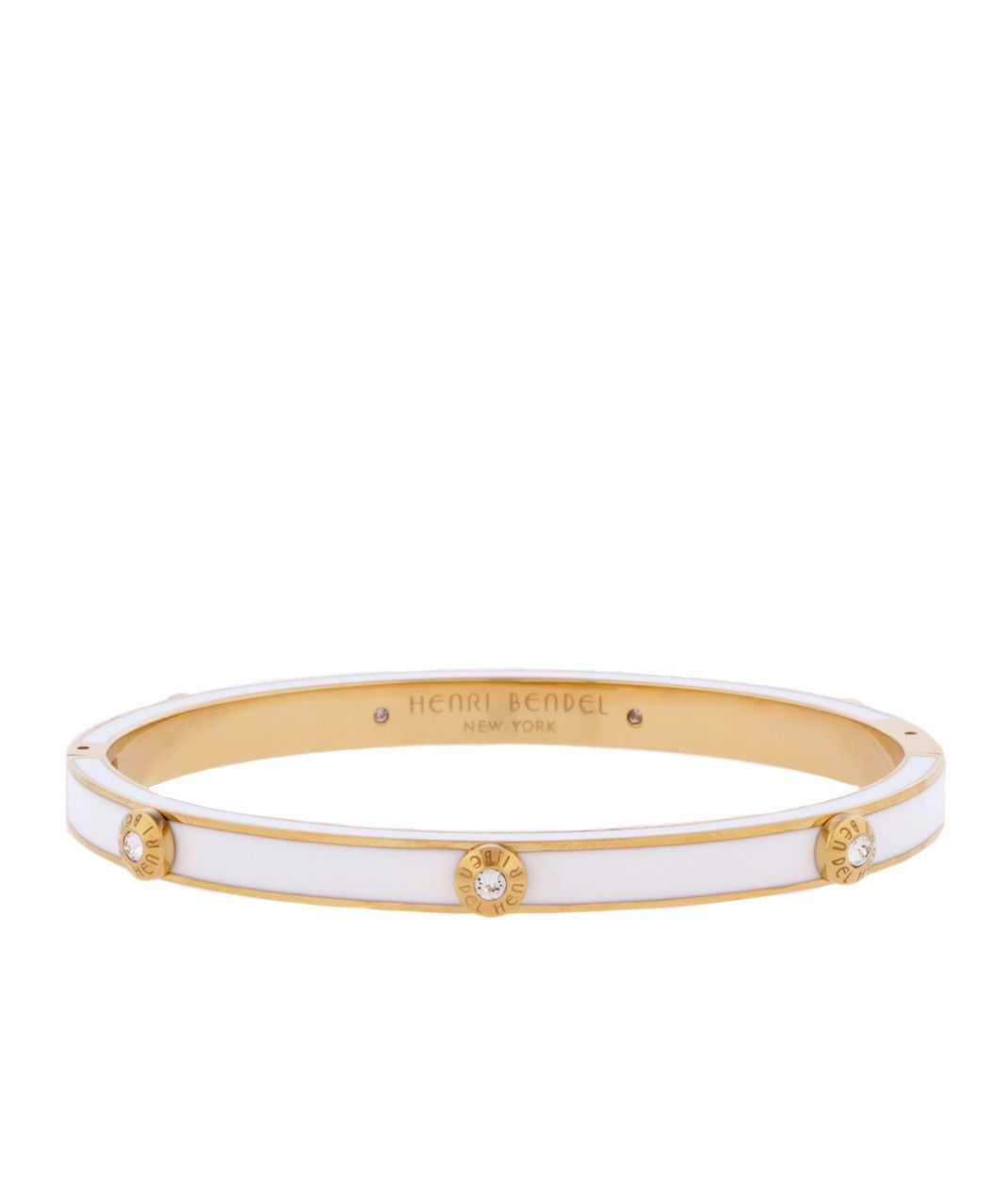 Miss bendel rivet bangle bracelet page henri bendel classic