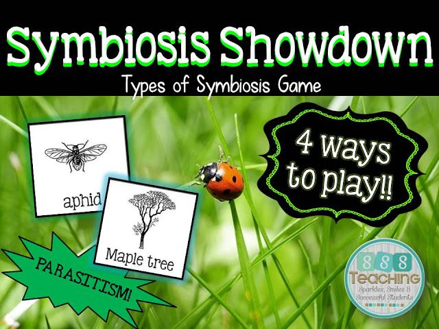 Sssteaching Symbiosis Showdown Tpt Science Lessons