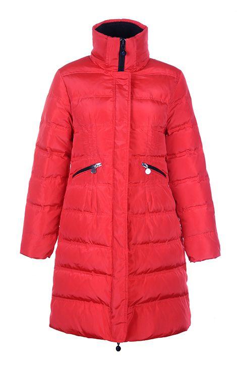 31e7fd2d9 norway moncler lievre womens coat designer long red 2407e 3c294