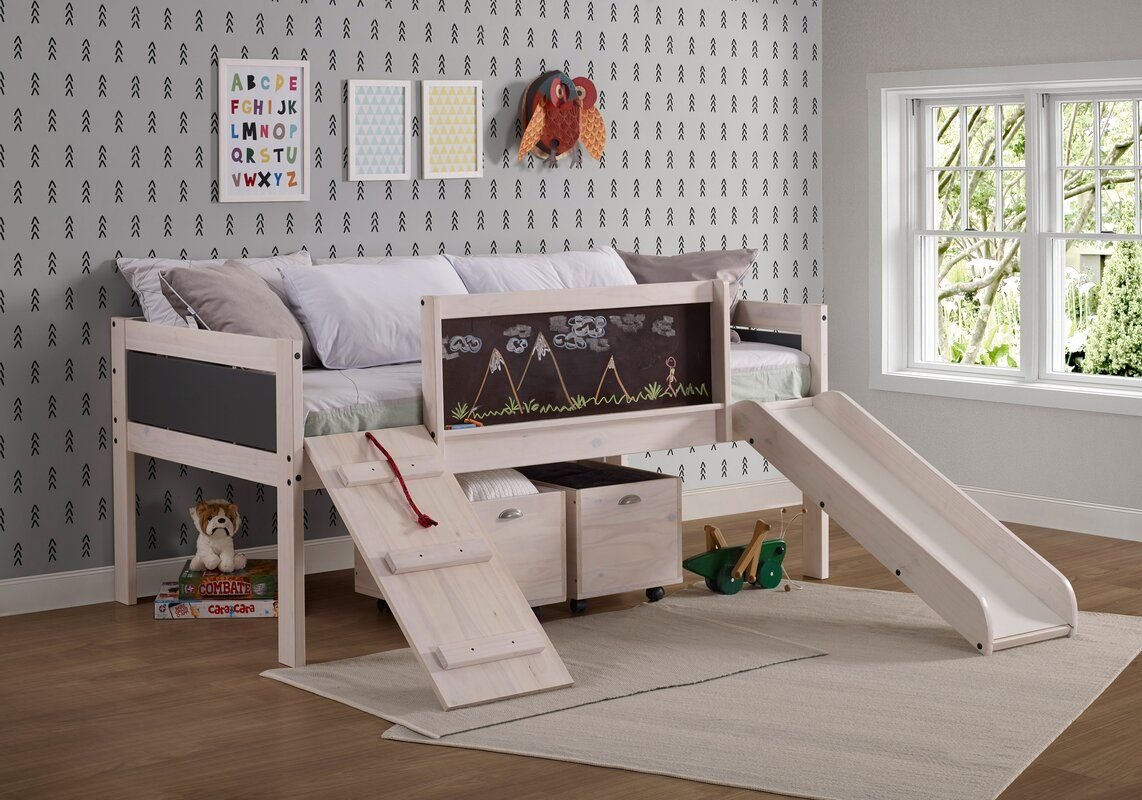Schmid Twin Low Loft Bed Low Loft Beds Loft Bed Frame Bed With