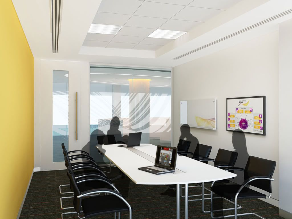 Meeting room interior design for small team ideas for for Meeting room interior design ideas