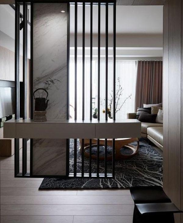 Paravanele Ca Elemente De Design Sofisticat 21 De Idei De Amenajari Interioare P Living Room Partition Design Living Room Partition Living Room Design Modern