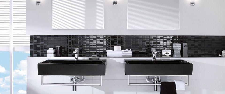 Kollektion Memento von Villeroy \ Boch - minimalistisches Design - badezimmer villeroy und boch