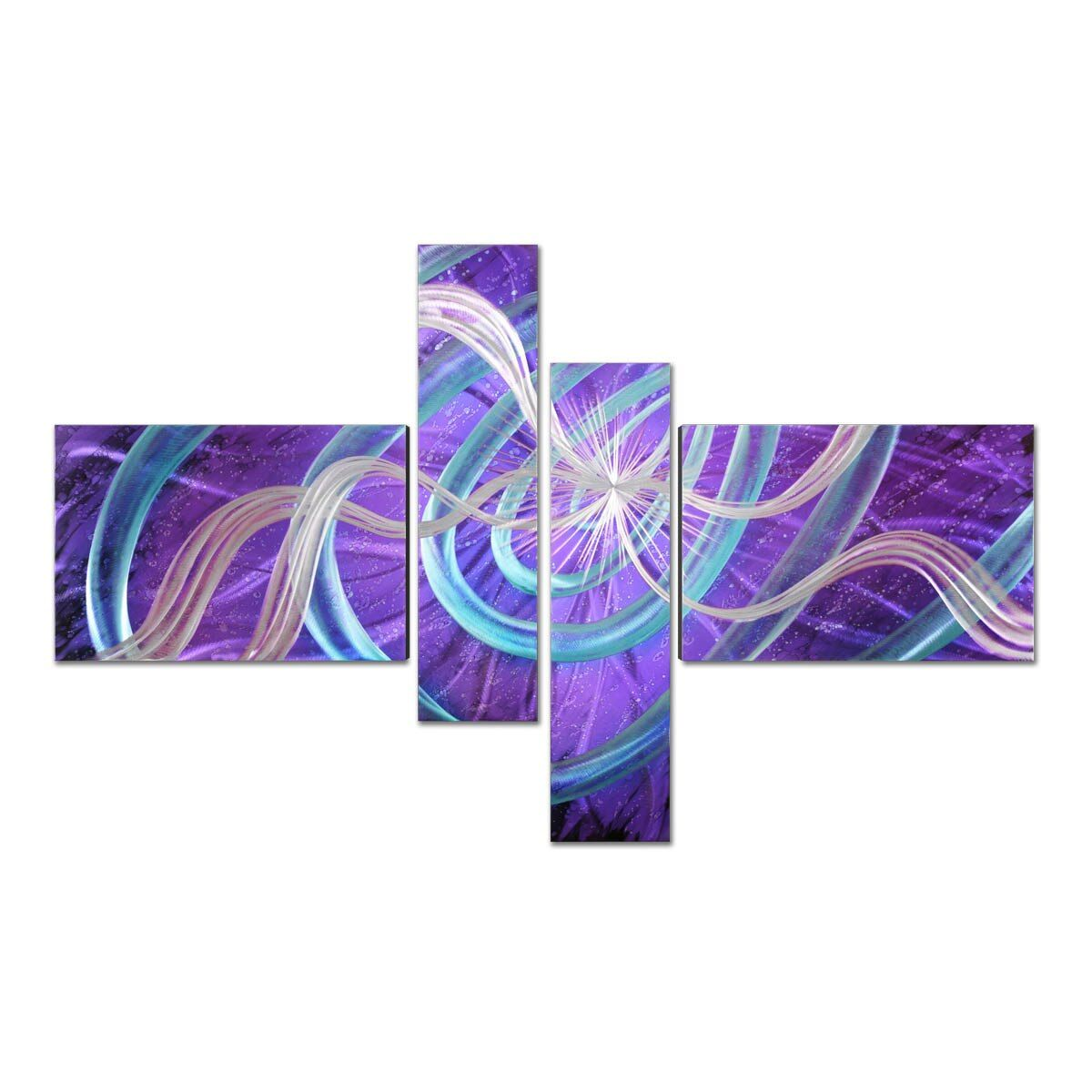 Stars Modern Painting Wall Art Home Decoration Gift 4 Panels