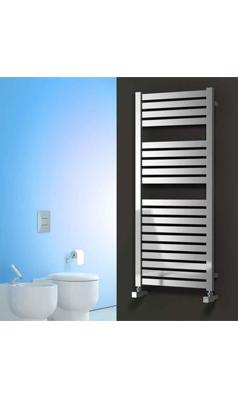 Reina Aosta Stainless Steel Bathroom Heated Towel Rail Radiator Satin Towel Rail Heated Towel Rail Stainless Steel Bathroom