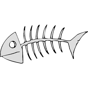 fish skeleton clipart cliparts of fish skeleton free download rh pinterest com