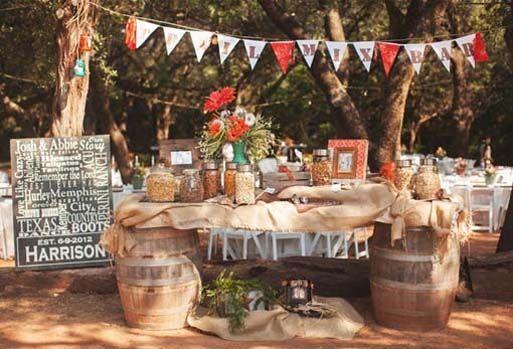 Wedding Ideas, Snack Bar Diy Country Wedding Decoration Ideas: Country  Wedding Decoration Ideas